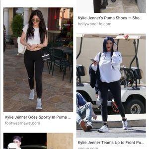 Puma x Kylie in Black & White